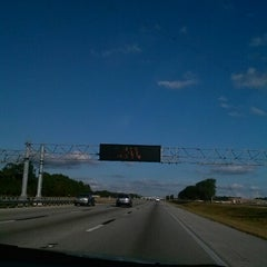 Photo taken at I-4 by Martha M. on 12/7/2012