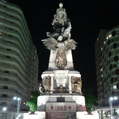 Photo taken at Praça da Independência by Emilio P. on 7/4/2013