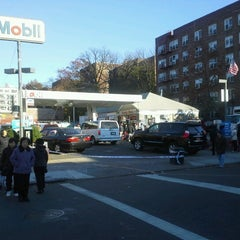 Photo taken at Mobil by Andre O. on 11/6/2012