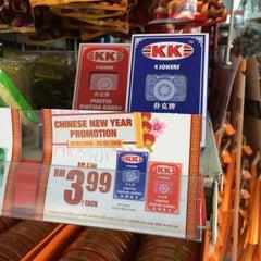 Photo taken at KK Supermart by Vincent T. on 2/19/2015