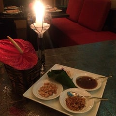 Photo taken at basil Restaurant by chang t. on 8/30/2014