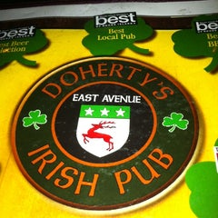 Photo taken at Doherty's East Ave Irish Pub by Olga F. on 3/16/2013
