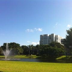 Photo taken at FIU Campus Life by Denitsa D. on 10/16/2012