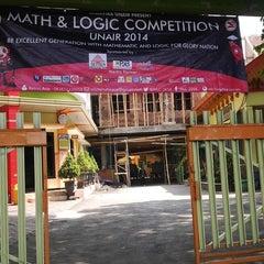 Photo taken at SMA Negeri 4 Malang by Silfie D. on 11/16/2014