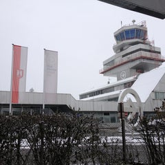 Photo taken at Blue Danube Airport Linz (LNZ) by Hans-Peter K. on 1/14/2013