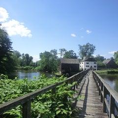 Photo taken at Tarrytown Lakes by Yuqing L. on 6/17/2014