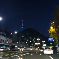 Photo taken at Namsan Tunnel 3 by Shin Young P. on 10/28/2012