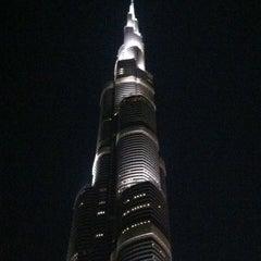 Photo taken at Burj Khalifa by David F. on 4/4/2013