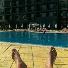 Photo taken at Spa Hotel Exotic Markovo by Илиян П. on 6/23/2013