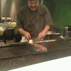 Photo taken at Fuji Teppanyaki Restaurant by Bailey L. on 10/13/2012