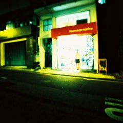 Photo taken at Lomography Gallery Store by Rebecca L. on 7/25/2014