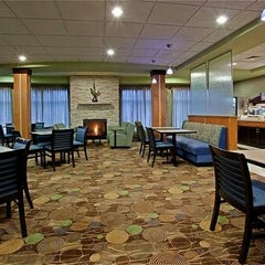 Photo taken at Holiday Inn Express & Suites Madison-Verona by Charlie E. on 12/5/2012