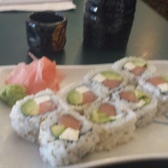 Photo taken at Sake Sushi Hibachi House by Emily B. on 1/17/2014