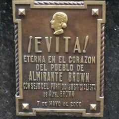 Photo taken at Eva Peron's Grave by Shah A. on 5/3/2013