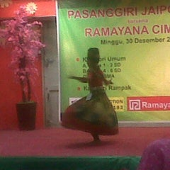 Photo taken at Ramayana Dept. Store by Tania T. on 12/30/2012