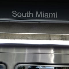 Photo taken at MDT Metrorail - South Miami Station by Robertson A. on 6/28/2013
