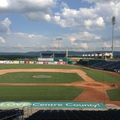 Photo taken at Medlar Field at Lubrano Park by Harjit on 5/22/2013