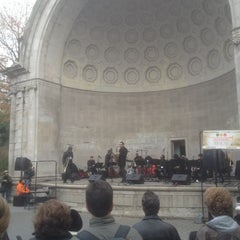 Photo taken at Naumburg Bandshell by David H. on 11/10/2012
