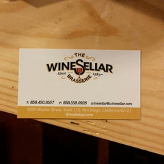 Photo taken at The WineSellar & Brasserie by Christiane .. on 4/26/2014