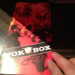 Photo taken at Wok Box by Steven K. on 1/9/2013