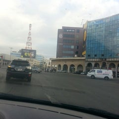 Photo taken at Waha Circle | دوار الواحة by Leen S. on 11/10/2012