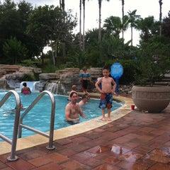 Photo taken at Splash Lagoon (North Village at Orange Lake Resort) by Jason F. on 5/28/2013