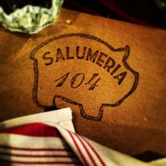 Photo taken at Salumeria 104 by Beni M. on 2/1/2013