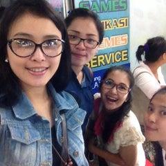 Photo taken at Malang Plaza by Gisella B. on 7/30/2014