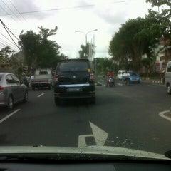 Photo taken at Jalan By Pass Ngurah Rai by Lusy H. on 1/18/2013