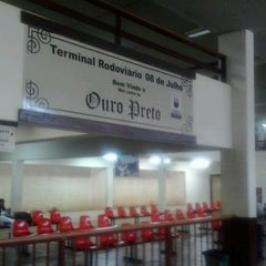 Photo taken at Terminal Rodoviário de Ouro Preto by Andre A. on 10/25/2012