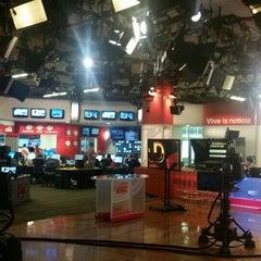 Photo taken at CNN Newsroom by Humberto L. on 7/24/2015