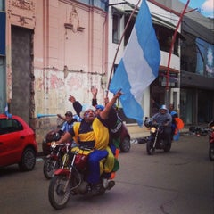 Photo taken at Santiago del Estero by Luis J. on 7/5/2014