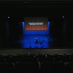 Photo taken at Morris Cultural Arts Center @ Houston Baptist University by Timothy M. on 9/19/2012