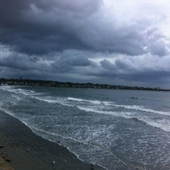 Photo taken at First Beach by Mackenzie on 10/14/2012