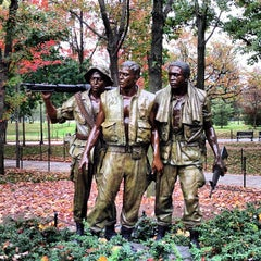 Photo taken at Vietnam Veterans Memorial by Dave J. on 10/26/2012