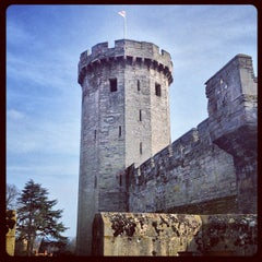 Photo taken at Warwick Castle by Anton on 3/4/2013