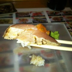 Photo taken at Fusion Sushi by Annette on 10/19/2012