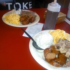 Photo taken at Baker's Ribs by Danny M. on 7/12/2014