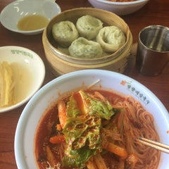 Photo taken at 망향비빔국수 by Jooyoung K. on 2/7/2015