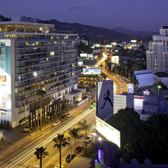 Photo taken at Andaz West Hollywood by Milestone Internet Marketing on 2/15/2014