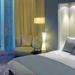 Photo taken at W Doha Hotel & Residences by Milestone Internet Marketing on 3/15/2014