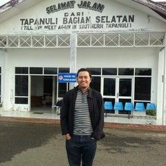 Photo taken at Aek Godang Airport by Tino M. on 12/10/2012