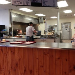 Photo taken at Nick Tahou Hots by Andrew M. on 10/24/2012