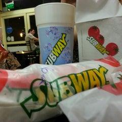 Photo taken at Subway by Ramiro on 12/30/2012