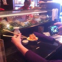 Photo taken at Sushi Thai Too by Aurora on 2/14/2013