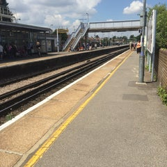 Photo taken at Rainham Railway Station (RAI) by Chris S. on 6/27/2015