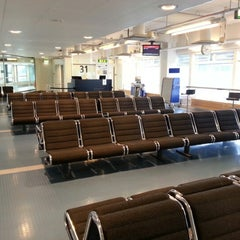 Photo taken at Terminal 4 by Daniel on 9/23/2012
