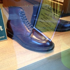 Photo taken at Alden New England Shoes by Mohammed S. on 9/14/2012