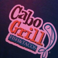 Photo taken at Cabo Grill Fish & Tacos by Andrea Michelle C. on 10/2/2012