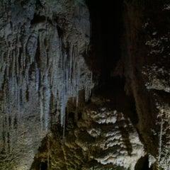 Photo taken at Waitomo Glowworm Caves by Dana on 3/4/2013